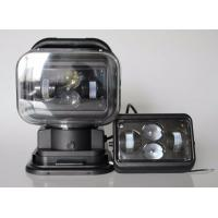 Quality 7 Inch Square Led Marine Searchlight , 30 Degee Spot 12v Truck Led Headlights for sale