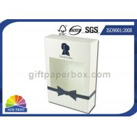 Quality Straight Tuck End Paper Box Lotion Body Wash Packaging Box with Clear Window for sale