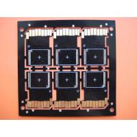 Quality SD Card Double Layer Black PCB Board Fabrication Heavy Gold for Projector for sale