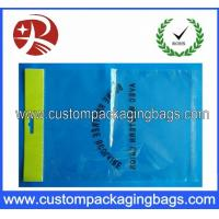 Quality Self Adhesive Tape Custom Packaging Bags , Socks OPP Packaging Bag for sale