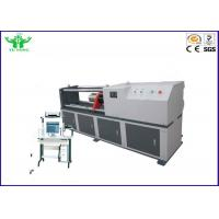 Buy cheap 0.05-50mm/min Strand Wire Tensile Relaxation Testing Machine 0.2%-100% from wholesalers
