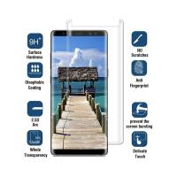 Quality Anti Fingerprint / Glare Samsung Galaxy S8 Screen Protector 3D Round Angle for sale