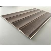 25cm × 8mm Four Arcs PVC Wooden Plastic Laminate Panels Customized Length