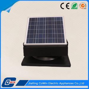 Eco Friendly Solar Roof Ventilator 30W 12V Waterproof For Greenhouse
