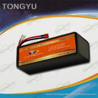 Quality Rechargeable UAV 6S 22.2V 10900mAh 25C LiPo RC Battery Pack Waterproof for sale