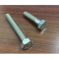 Quality Din931 / 933  / 593c Stainless Steel Hex Head Bolts For Furniture Construction for sale
