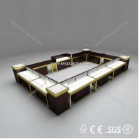 Buy Luxury Modern Glass Portable Jewelry Display Showcase at wholesale prices