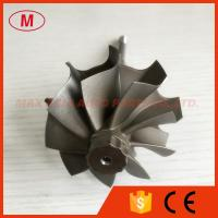 Quality TD05H 9 blades 49.12/55mm journal bearing turbo turbine shaft reverse rotation for sale