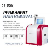 China High Speed 808nm Diode Laser Skin Rejuvenation Machine / Hair Removal Systems on sale