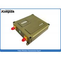Quality Miniature UAV Video Link 1 Watt 40km LOS FHSS Data Link 10MHz Bandwidth for sale