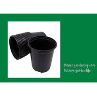 Quality Round Garden Nursery Pots Garden plant accessories Black or as request Color Plant Growing Material Plasitc Warranty per for sale