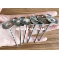 Quality Stainless Steel Insulation Anchor Pins With 22mm Dome Cap Washers for Blankets for sale