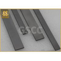 Quality High Precision Tungsten Carbide Square Bar , Flat  Wear Strips for sale
