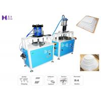 Quality Paper Cardboard Cake Box Making Machine Diameter 25cm 0.6Mpa Air Pressure for sale