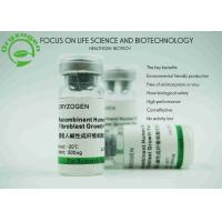 Quality Rice Grain Origin bFGF Recombinant Growth Factors 17KD Molecular Weight for sale