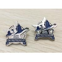 Buy Metal Enamel Lapel Pins No Minimum With Company Logo Or Cartoon Character at wholesale prices