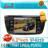 Quality Car Mp3 Player / Car Stereo / GPS / IPOD FIAT DVD Player For FIAT Linea Punto ST-6219 for sale