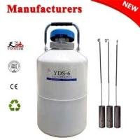 Quality Cryogenic freezer YDS-6L dewar vessel companies in China for sale