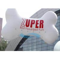 Quality PVC Outdoor Custom Shaped Balloons , Bone Customised Helium Balloons for sale