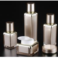 Quality 15ml 30ml 50gml  100ml  square empty plastic cosmetic lotion serum  bottle from manufacturer for sale