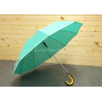 Quality Weatherproof Promotional Golf Umbrellas With Logo , Personalised Business Umbrellas for sale