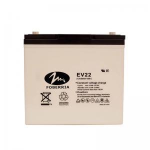 Quality AT 12v 55ah EV Lead Acid Batteries EV22 Electro Tricycle Sulfuric Acid Battery for sale