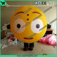 Quality Oxford Inflatable Balloon Costume Moving QQ Cartoon Inflatable Customized for sale