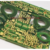 Quality PCB of 12 Layer HTG Dielectric and Capped Vias (CTE-120) for sale