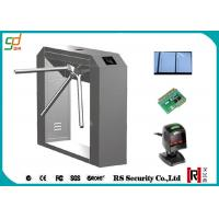 China RFID Turnstile Security Systems, Barcode Reader Tripod Turnstiles Gate on sale