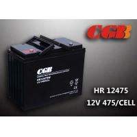 Quality Energy Sotrage High Rate Discharge Battery , Lead Acid Deep Cycle Battery 12V 135AH for sale