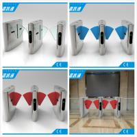 Buy cheap Half Height Flap Gate Barrier Safety Access Control Turnstile Gate CF238FLG-YJ from wholesalers