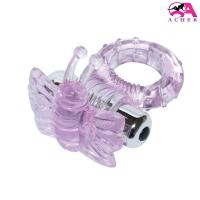 Quality Environment Friendly 7 Speed Butterfly Vibrating Cock Ring With CE ROHS Aprrove for sale