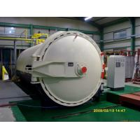 Quality Glass laminating autoclave with automatic PLC control system and high quality for sale