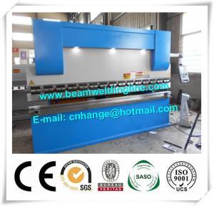 China NC Hydraulic Press Brake And Bending Machine 80T , Metal Sheet Brake Press Machine on sale