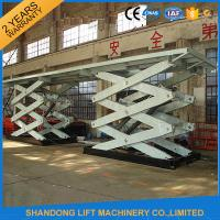 China Double Heavy Duty Stationary Hydraulic Scissor Lift for Cargo Moving on sale