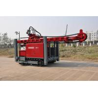 Quality Self propelled on track water Well Drilling Rig 97KW / 420 mm Drilling Hole with hydraulic system for sale