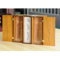Quality Gloss Finished Offset Wood Jewelry Boxes , Decorative Gift Boxes CE FSC for sale