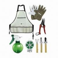 Quality Garden Tool Set with Apron for sale