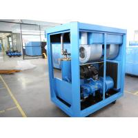 Industrial VFD Air Compressor , Lubricated Rotary Screw Compressor PM Motor 30HP 22kW