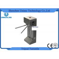 Quality 304 Stainless Steel Access Control Turnstile Gate Full Auto Tripod 550mm Channel Width for sale