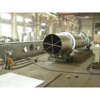 Quality Rotary Barrel Vacuum Drying Machine Natural Gas Heating High Efficiency for sale