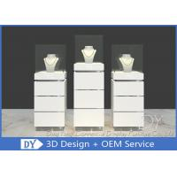 Quality Contemporary MDF Jewelry Display Stand / Jewelry Display Cabinet for sale