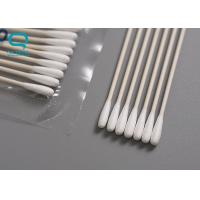 Quality Cleanroom Surgical Cotton Swabs , Dust Free Swabs Ployurethane Sponge Material for sale