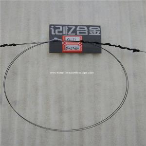 Quality NiTi Nitinol Nickel Titanium Super Elastic Wire 0.5mm *5000mm for sale