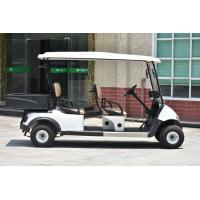 Buy Multipurpose 4 Passenger Club Car Electric Golf Buggy With Rear PP Plastic Cargo at wholesale prices