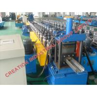 Quality Automatic Metal Door Frame Making Machine With Cr12 Mould Steel Rollers for sale