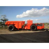 Quality 7cbm Or 15 Tons Bucket Capacity Underground Mining Dump Trucks , RT-15 Low Profile Truck for sale
