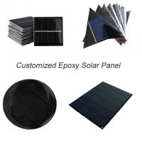 Quality Custom Made Small Solar Panel , Epoxy Resin Solar Panel For Led Garden Light Battery for sale