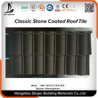 Quality Roofing Material Natural Stone Chips Coated Metal Roofing Sheet Price for sale