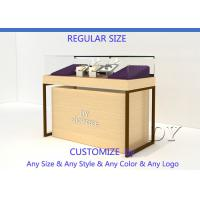 Buy Wood Store Jewelry Display Showcase With Large Removable Storage at wholesale prices